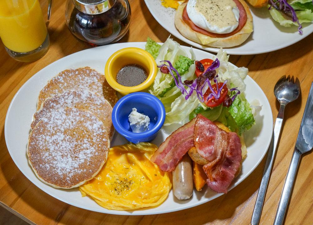 [高雄]The way 菋-清爽系美式鬆餅早午餐拼盤! 簡約不油膩早午餐 高雄早午餐推薦