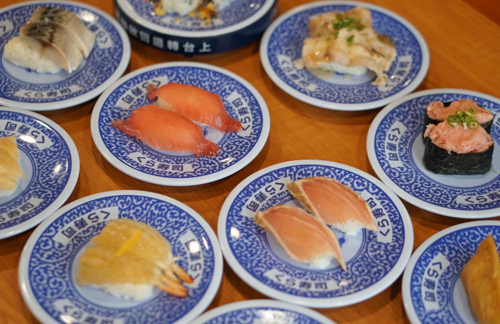 [高雄]くら寿司藏壽司-超平價40元一盤!排翻天迴轉壽司 還可以抽扭蛋喔! 高雄巨蛋美食推薦