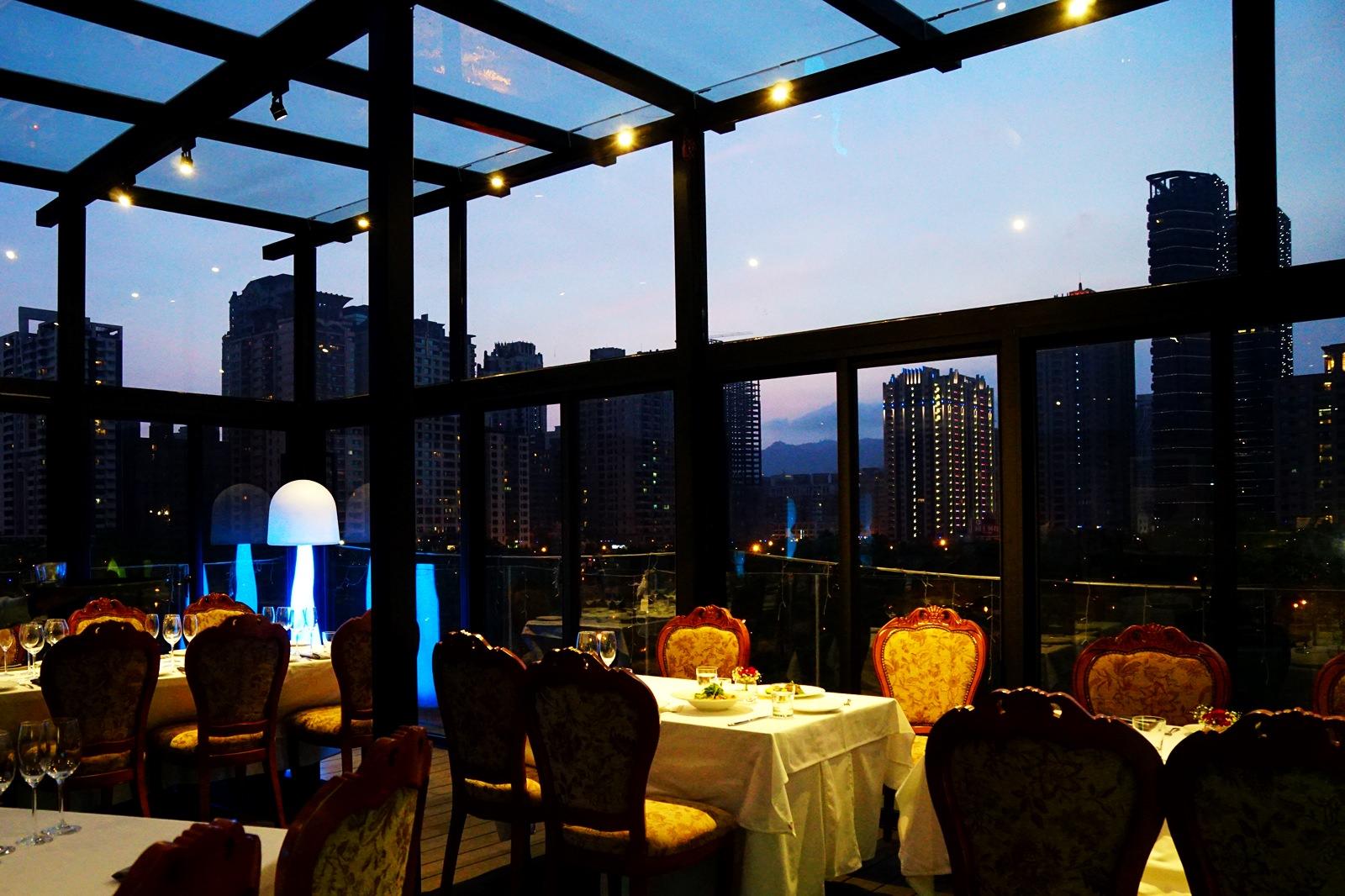[高雄]Eagle義來藝去義法餐廳-浪漫玻璃屋星光餐廳! 高質感義法料理 2016米其林餐會隆重登場 高雄約會餐廳推薦