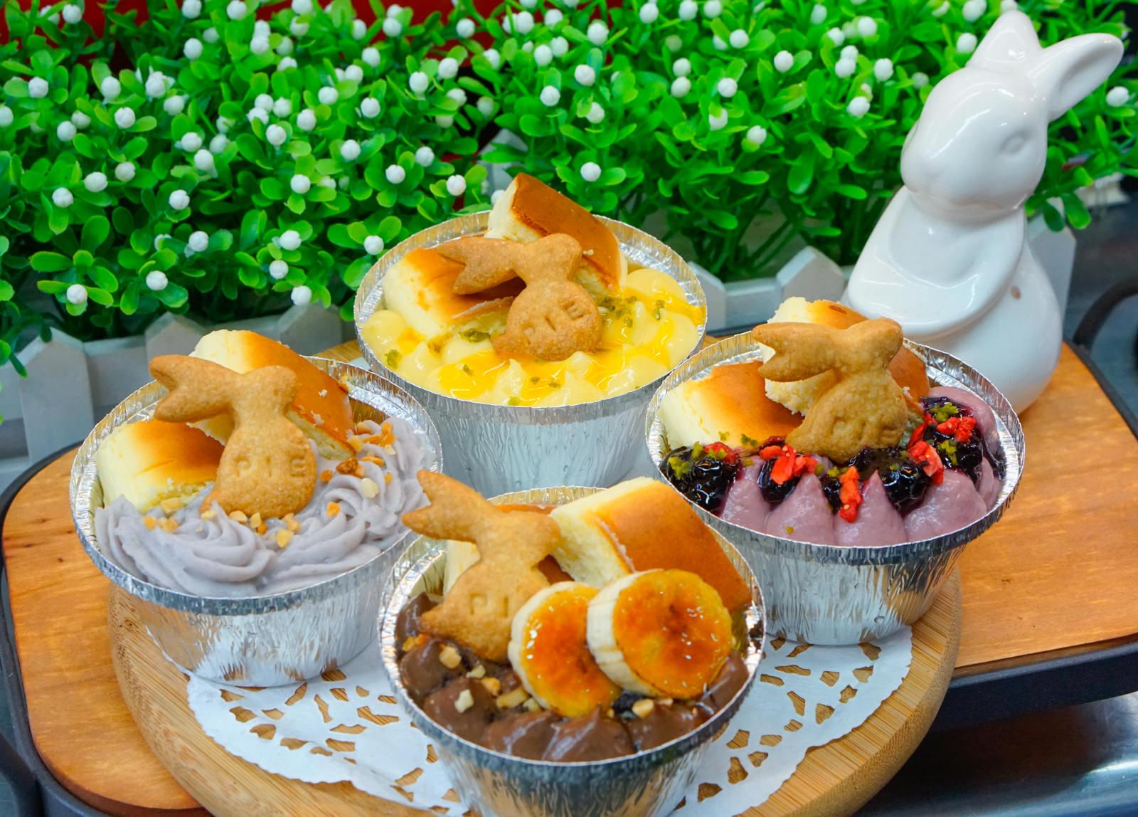 [高雄]吃派對pieparty手作鹹派布蕾甜塔-超限量!萌翻天多種口味重乳酪蛋糕布蕾 停不了的少女系甜點 高雄甜點推薦