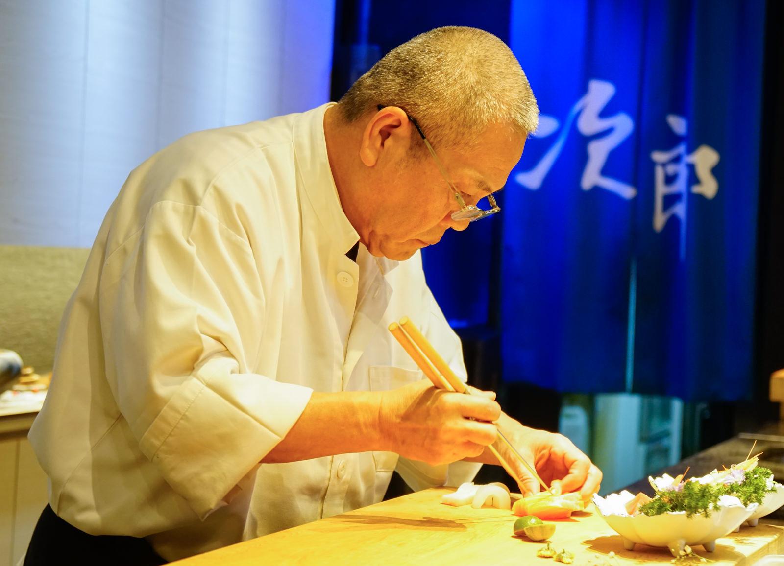 [高雄]次郎本格日本料理-日籍料理長的職人風範 藝術和食饗宴 高雄日本料理推薦