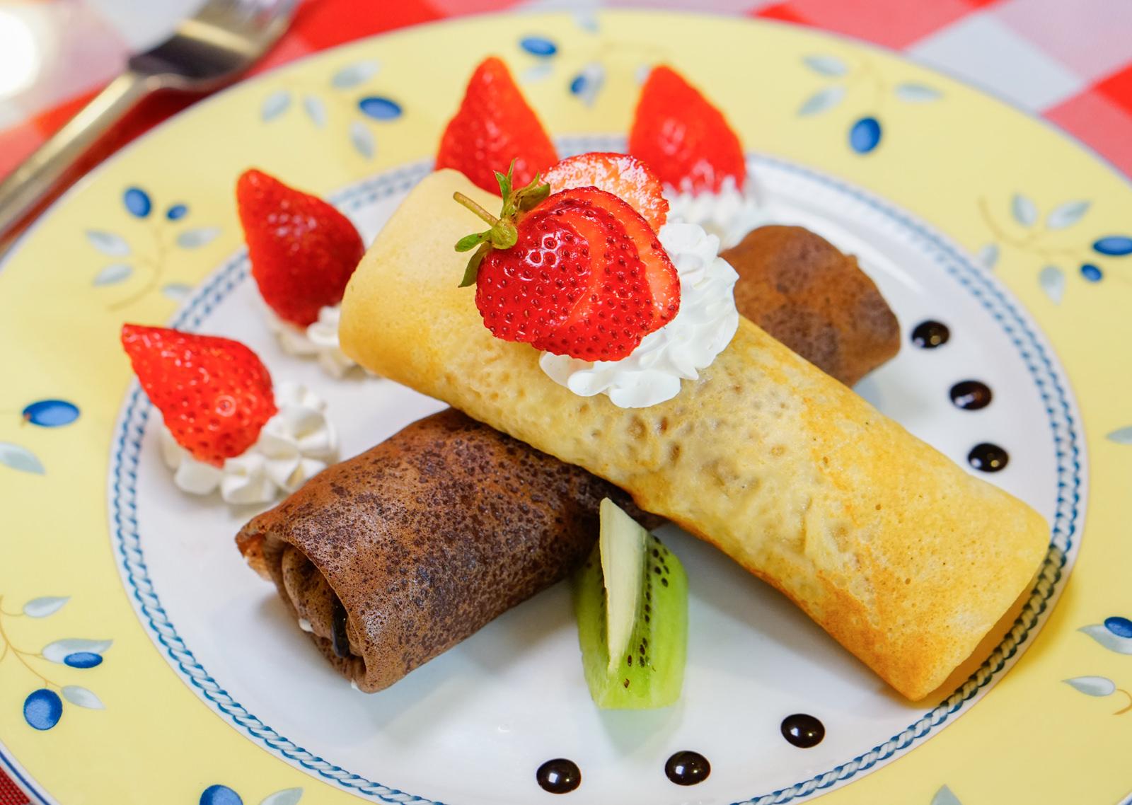 [高雄]Chez Alexandre亞力的家法式薄餅小館-冬季限定!草莓巧克力法式薄餅 正統法式餅皮 高雄下午茶推薦