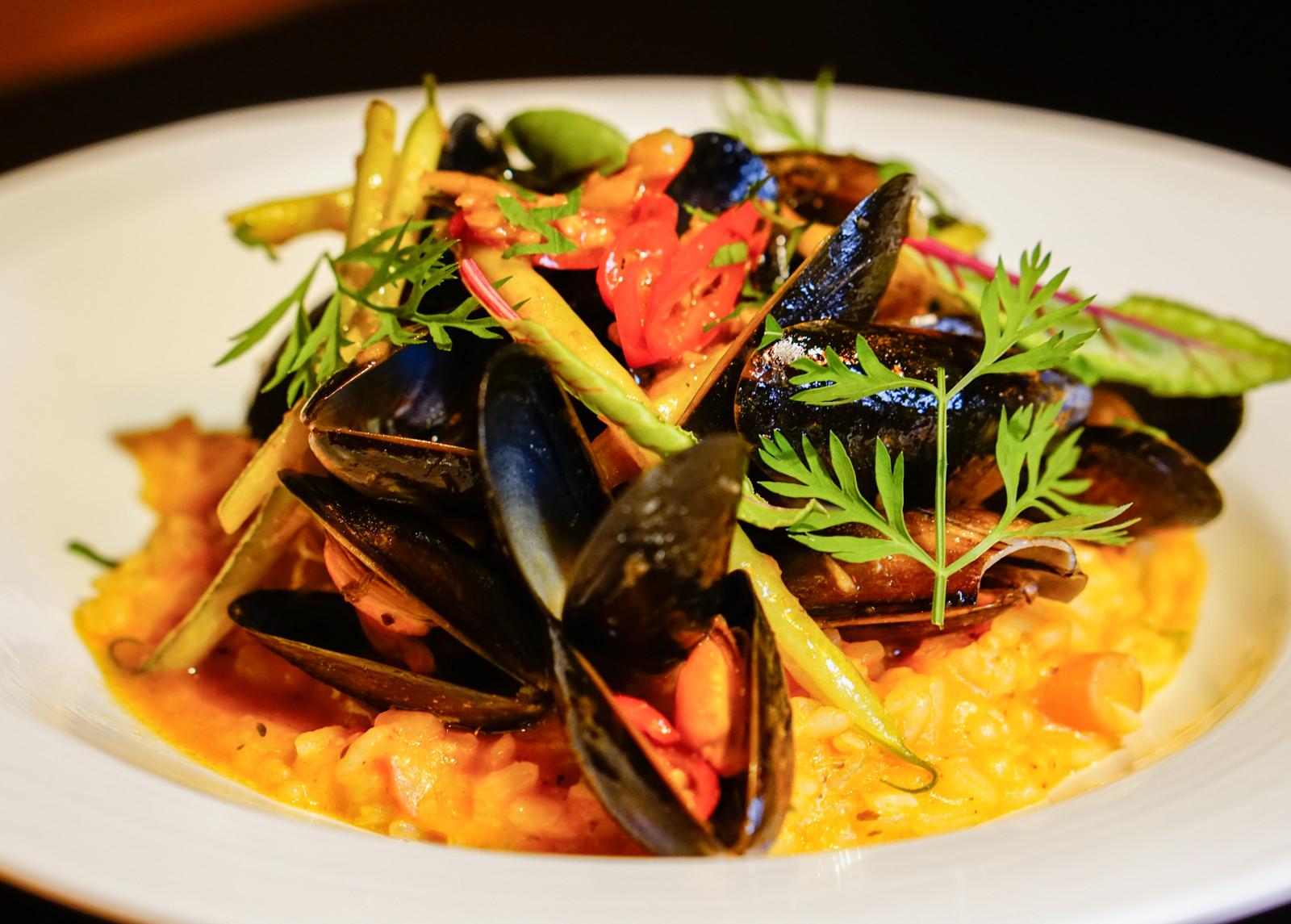 [高雄]Trattoria del CHA CHA-限量美味淡菜番茄燉飯! 質感餐酒館創意料理 高雄餐酒館推薦
