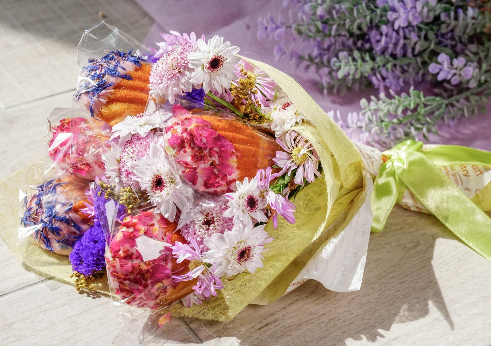 [宅配]賞.甜點  üdd-女孩們尖叫吧! 超浪漫法式甜點花束 可吃可拍照 情人節禮物推薦