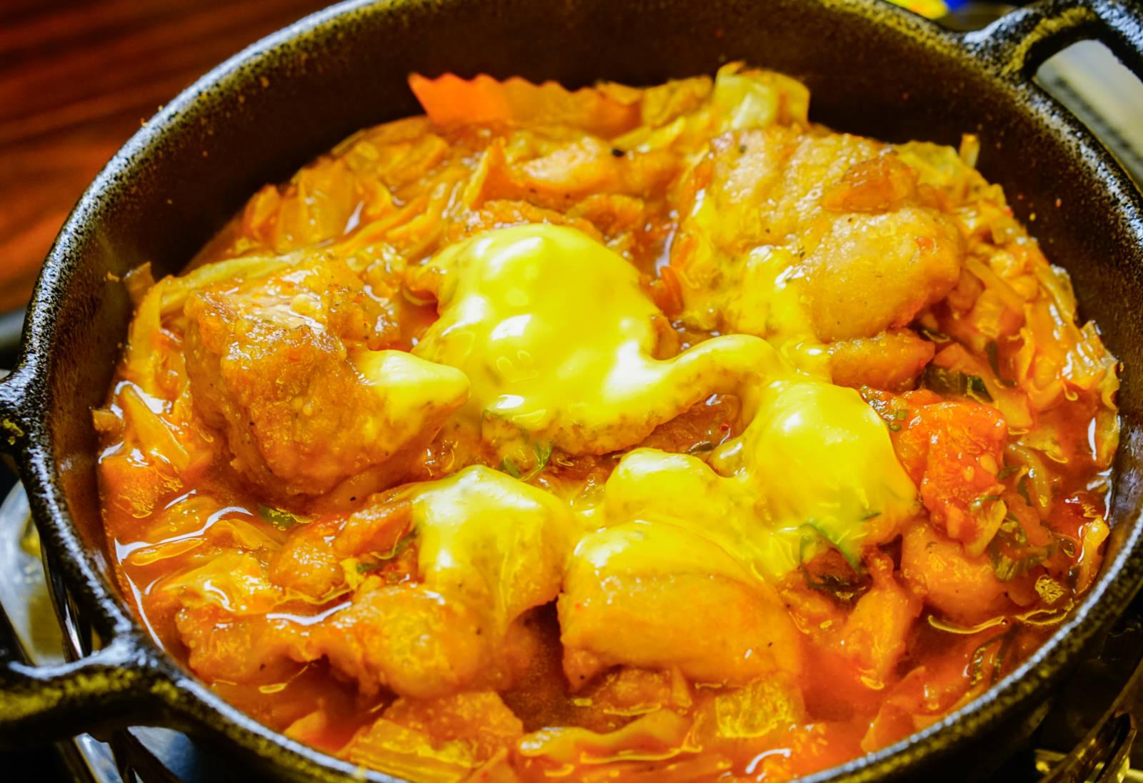 [高雄]黃鵲.食料研製所-難以抗拒!美味起司番茄雞肉燒 超平價日式料理 鳳山美食餐廳推薦
