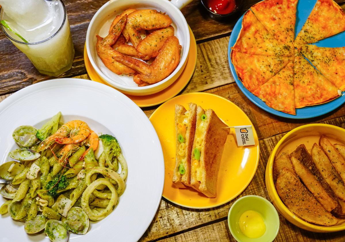 [高雄]Deli & Cheese-銅板價大啖美式起司餐點! 重工業風放鬆空間 高應大美食推薦