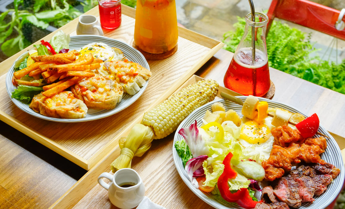 [高雄]Cubby café-都市叢林的綠樹花園豐盛早午餐! 高雄文化中心美食推薦