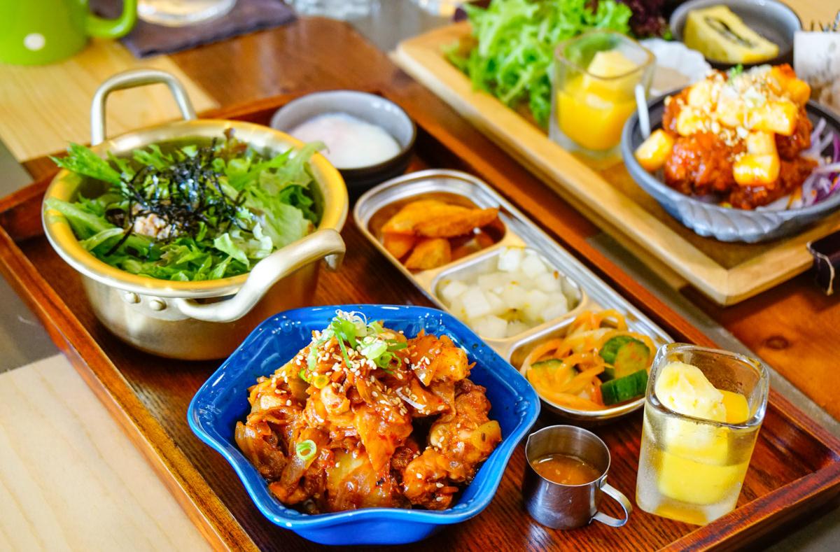 [高雄]Double Soul coffee & bistro-創意韓式午餐定食! 白天也能去的迷人餐酒館 高雄餐酒館推薦