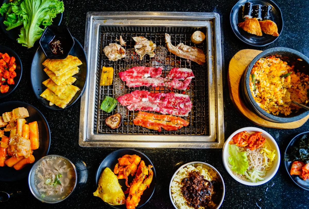 [高雄]東大門韓式燒烤暢食料理館-多種韓食選擇不無聊!超夯高雄韓式烤肉吃到飽