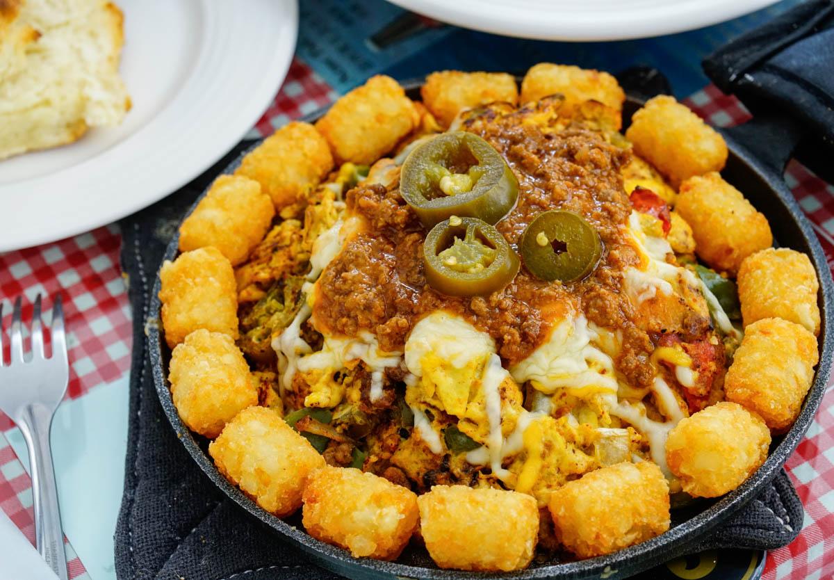 [高雄巨蛋美食]阿肯瑟餐車Arkansas Diner-起司爆量墨西哥風炒蛋! 道地美國南方味