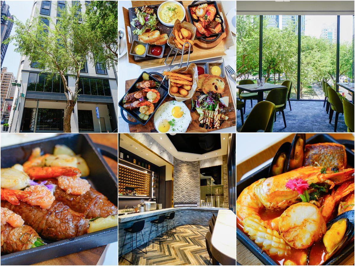 [高雄巨蛋美食]帕可麗酒店艾可廚坊-綠影相伴質感早午餐