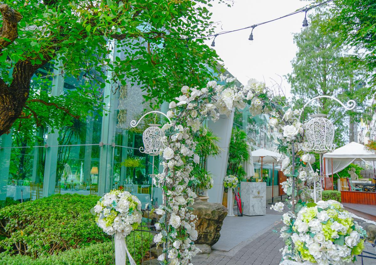 [高雄]梅森維拉Maison de Verre-愛河畔浪漫破表玻璃屋享早午餐