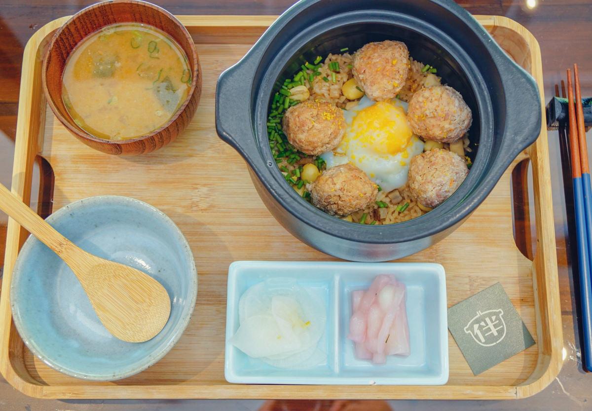[高雄]伴土鍋炊飯-質感日系風!暖心土鍋炊飯料理!高雄美術館餐廳推薦