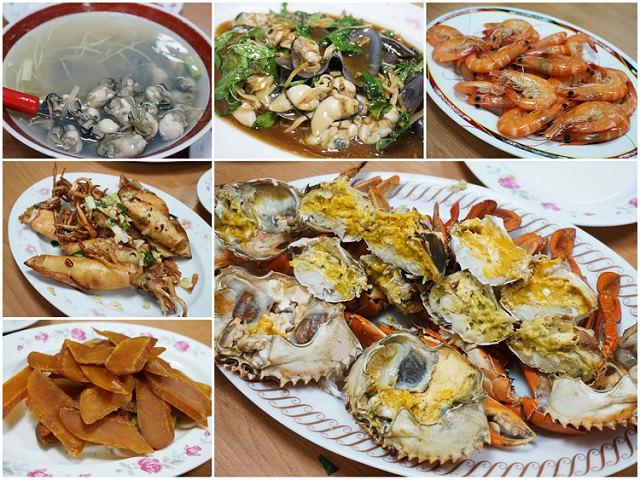[高雄前金美食]菜包李小吃部-沒賣菜包賣海鮮!先預約才吃得到的隱藏版美味