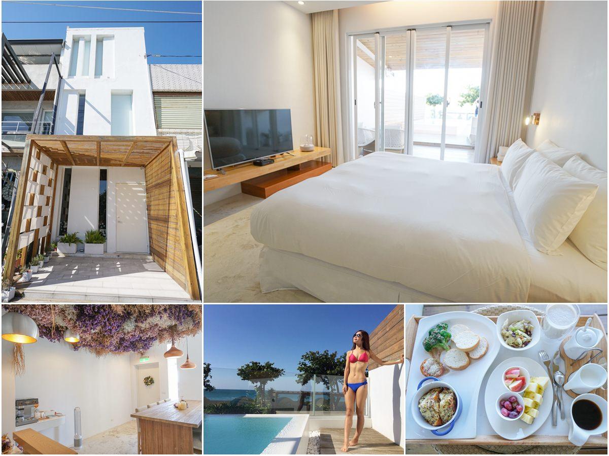 [墾丁民宿推薦]墾丁後面有灣hooope Inn-擁抱極致蔚藍!私藏海景景觀房x私人泳池頂級Villa