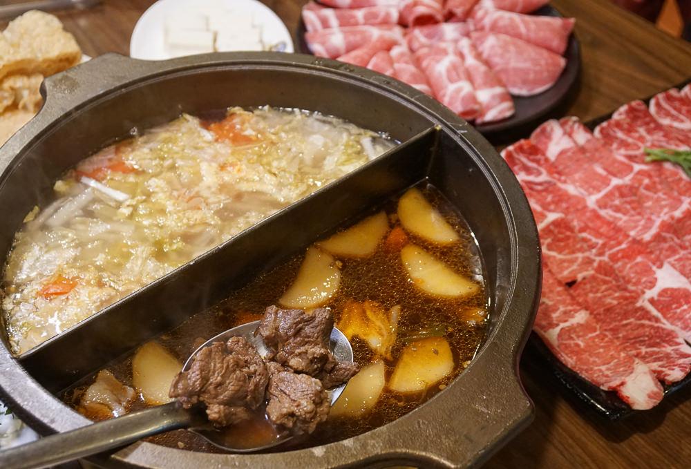 [高雄火鍋推薦]滿福精緻羊肉料理餐廳-老饕超愛!紅燒羊肉/酸白菜鴛鴦鍋~熱炒也好吃