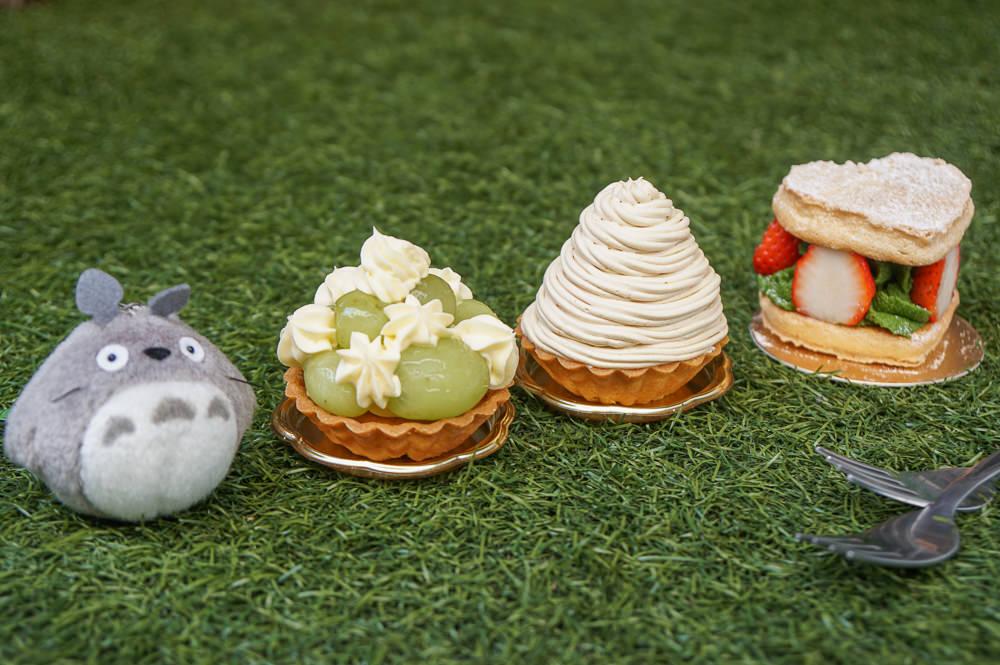 [高雄甜點推薦]惒憩手作甜點-巷弄隱密甜點店!與龍貓來個甜甜下午茶約會!