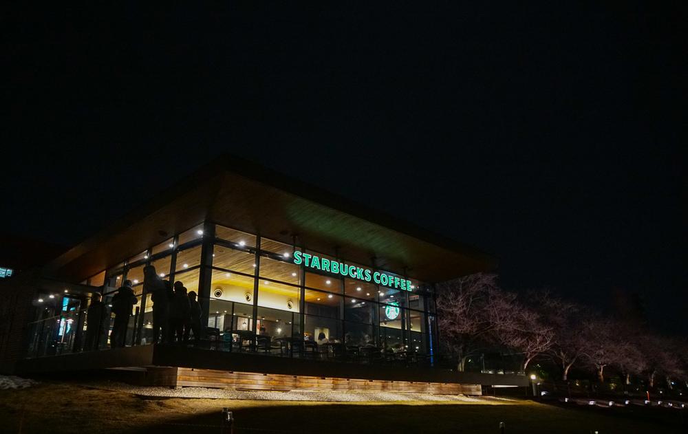[北陸富山旅遊]星巴克咖啡(環水公園店)–世界最美星巴克
