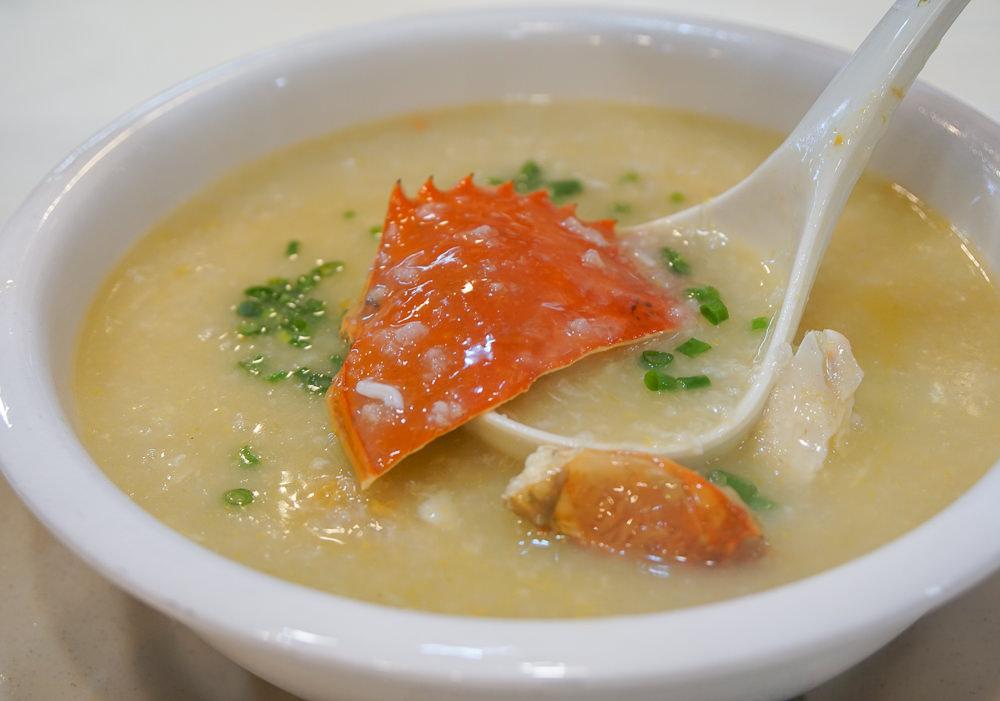[澳門美食]誠昌飯店水蟹粥-大份量水蟹粥!官也街必吃澳門美食代表