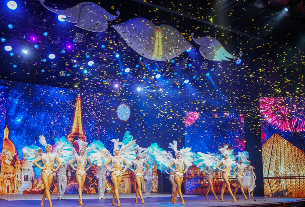 [澳門景點推薦]巴黎人劇場「夢幻巴黎」-住澳門巴黎人必看!動感花都歌舞表演