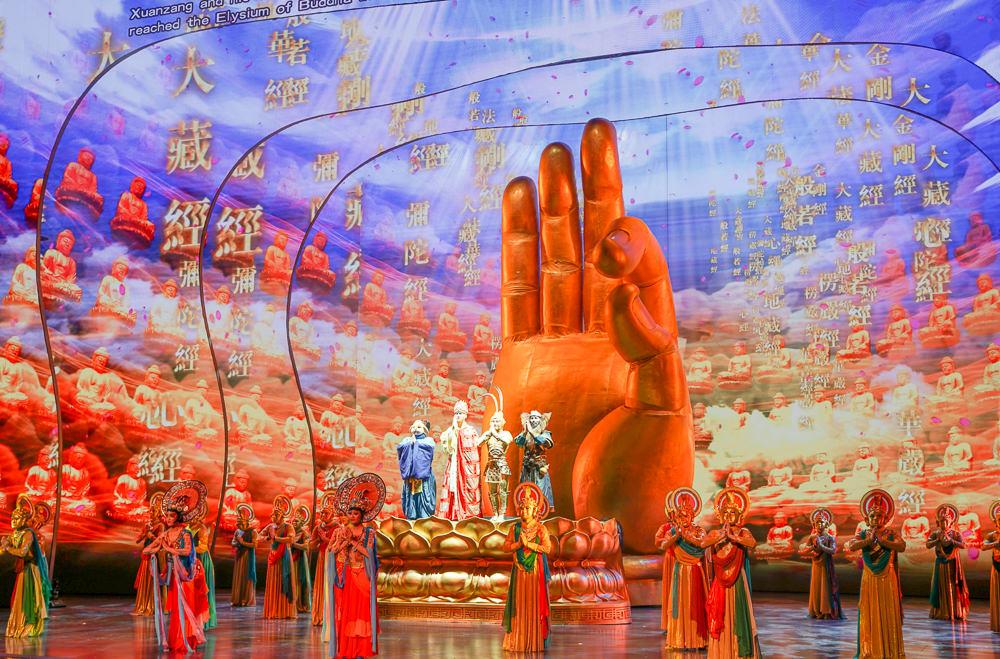 [澳門行程推薦]澳門金沙城劇場「西遊記」-精彩技藝!澳門必看中國風舞台劇