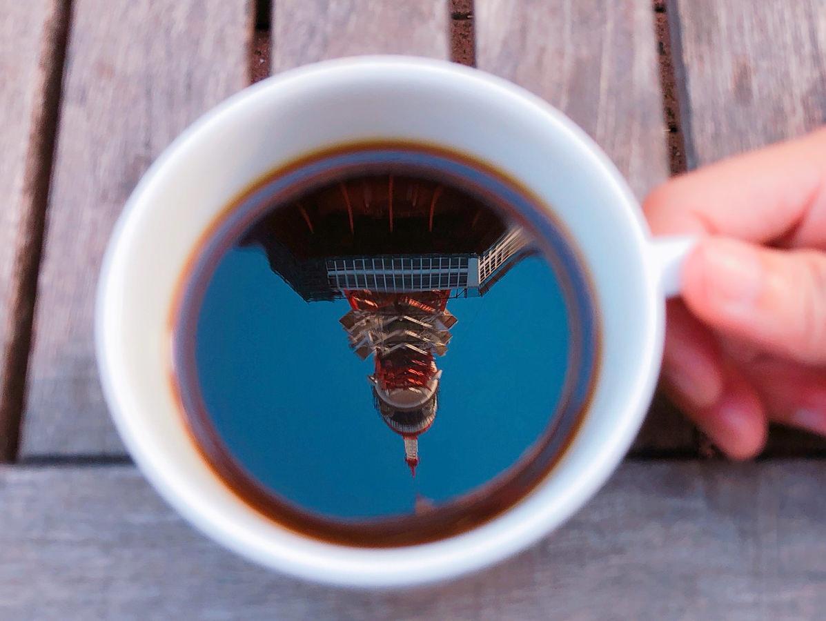 [東京景點推薦]TANGO-一杯咖啡盡收東京鐵塔~東京鐵塔下最浪漫餐廳!