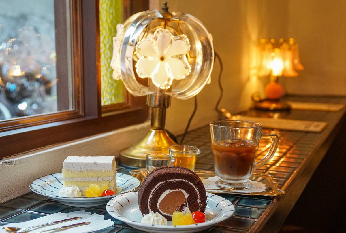 [高雄下午茶推薦]萬吧One Bar-在復古昭和風喫茶店來份甜甜下午茶
