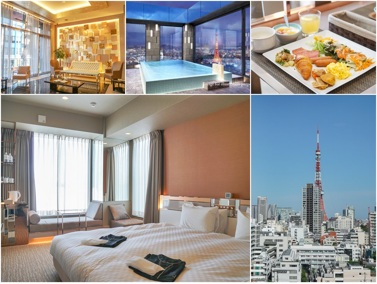 [東京住宿推薦]Candeo Hotels東京六本木光芒飯店-超大鐵塔景觀房!地鐵走路2分好方便~