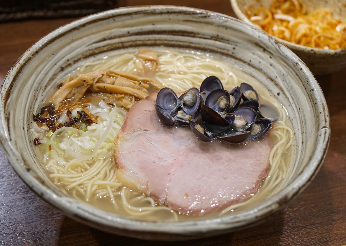 [東京拉麵推薦]らーめん一郎-銀座隱藏版鹽味蛤蜊拉麵!Tabelog超高分平價美食