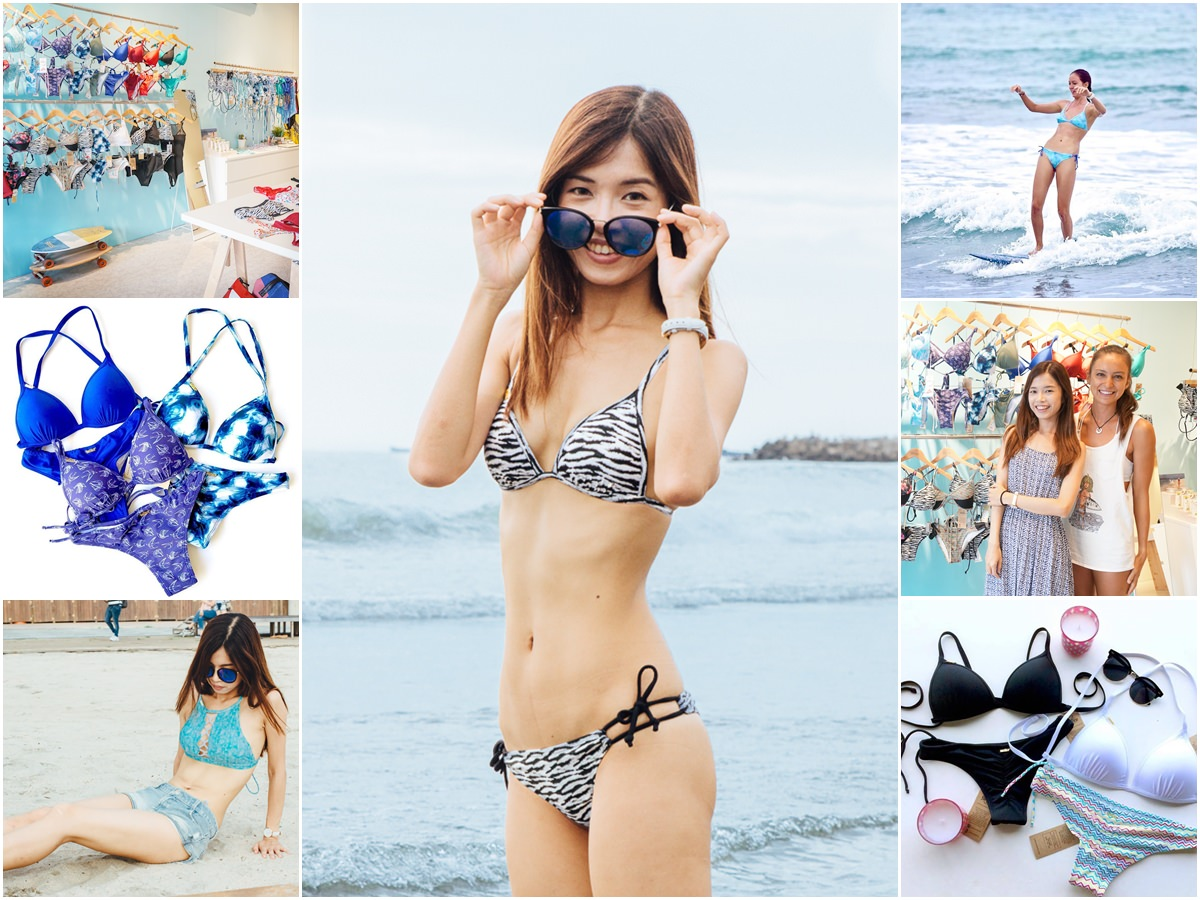 [時尚]比基尼品牌推薦: SurfAce Bikinis-展現自信! 時尚繽紛運動比基尼 水下運動不走光