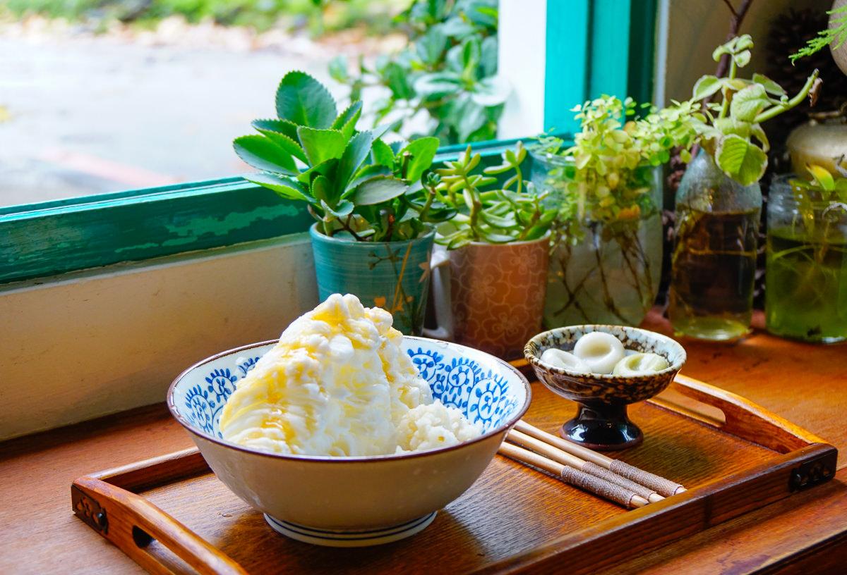 [花蓮]心地日常-文青必拍日式氣氛老房!一吃上癮桂花蜜酒釀雪花冰