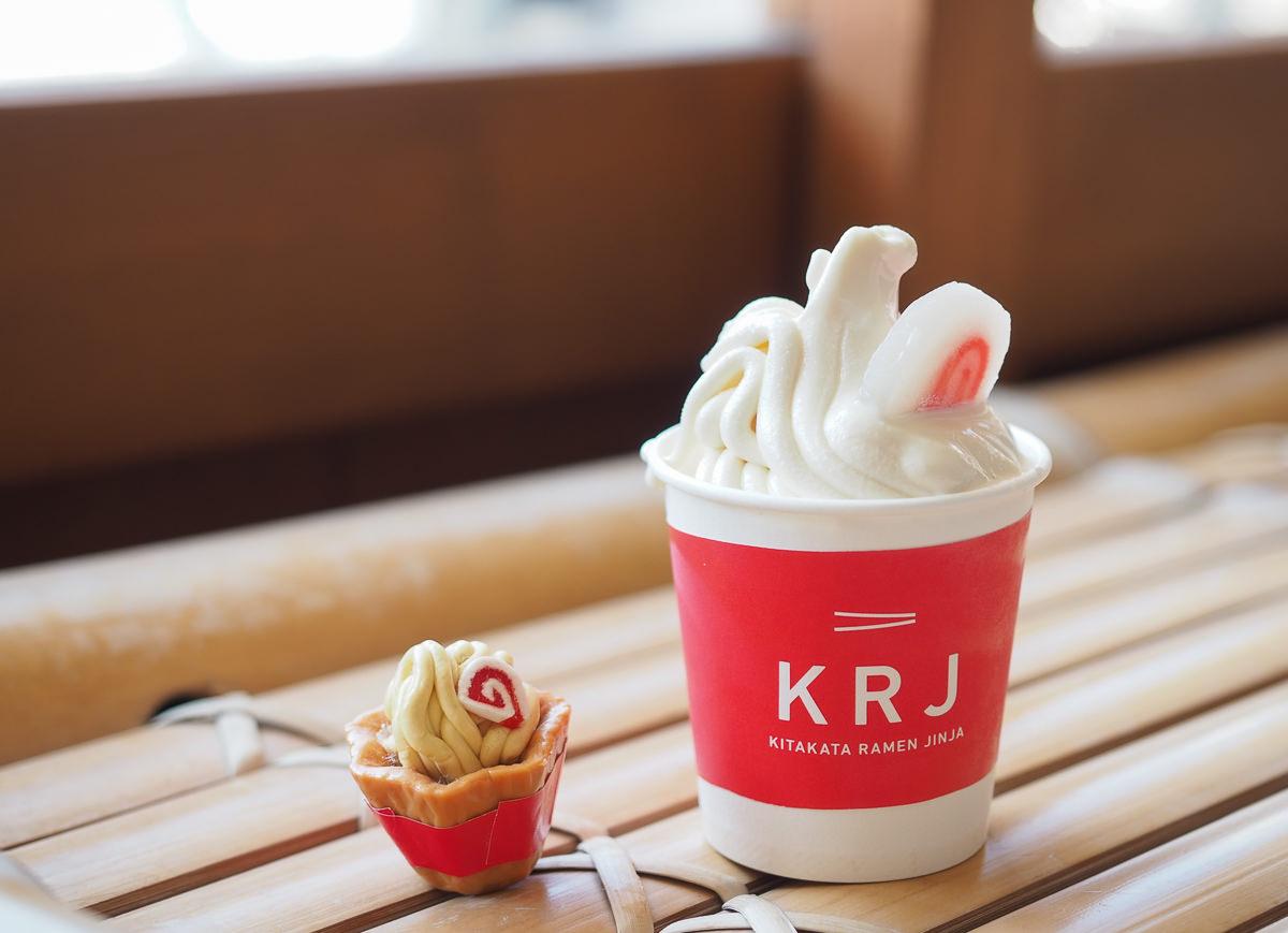[福島美食推薦]喜多方拉麵神社-超特別拉麵主題神社~必吃醬油拉麵口味霜淇淋!