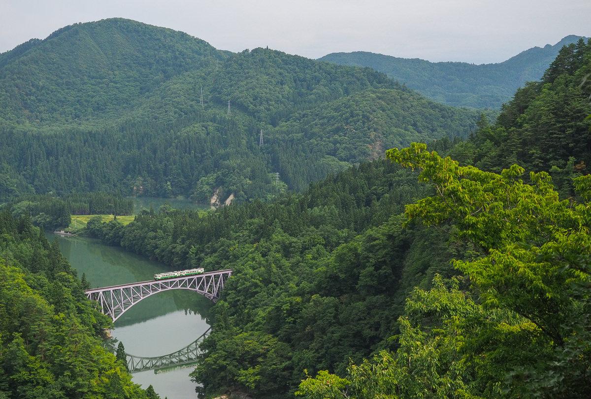 [福島景點推薦]奧會津只見線-攝影控鐵道迷必訪!東北絕美景色
