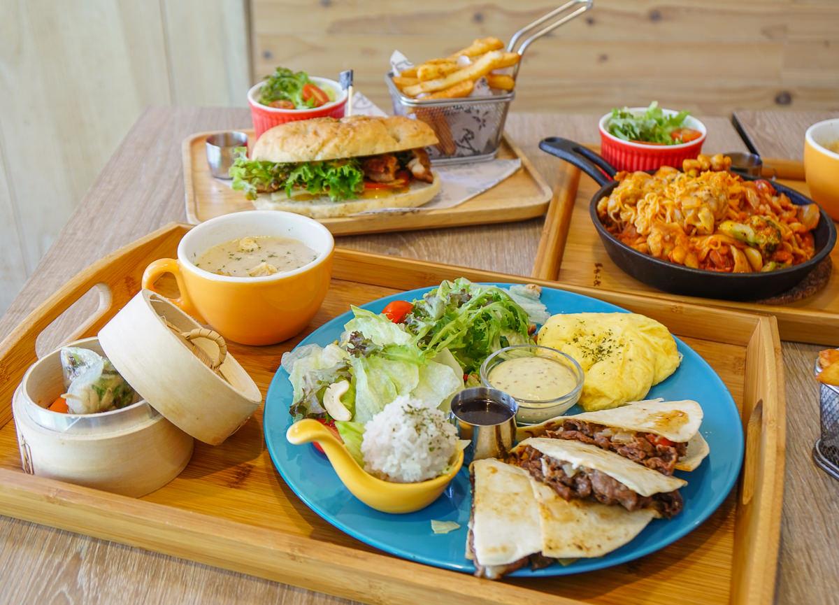 [高雄]博朗西咖啡Brunci cafe'-好好食~有蒸籠港點的西式創意早午餐