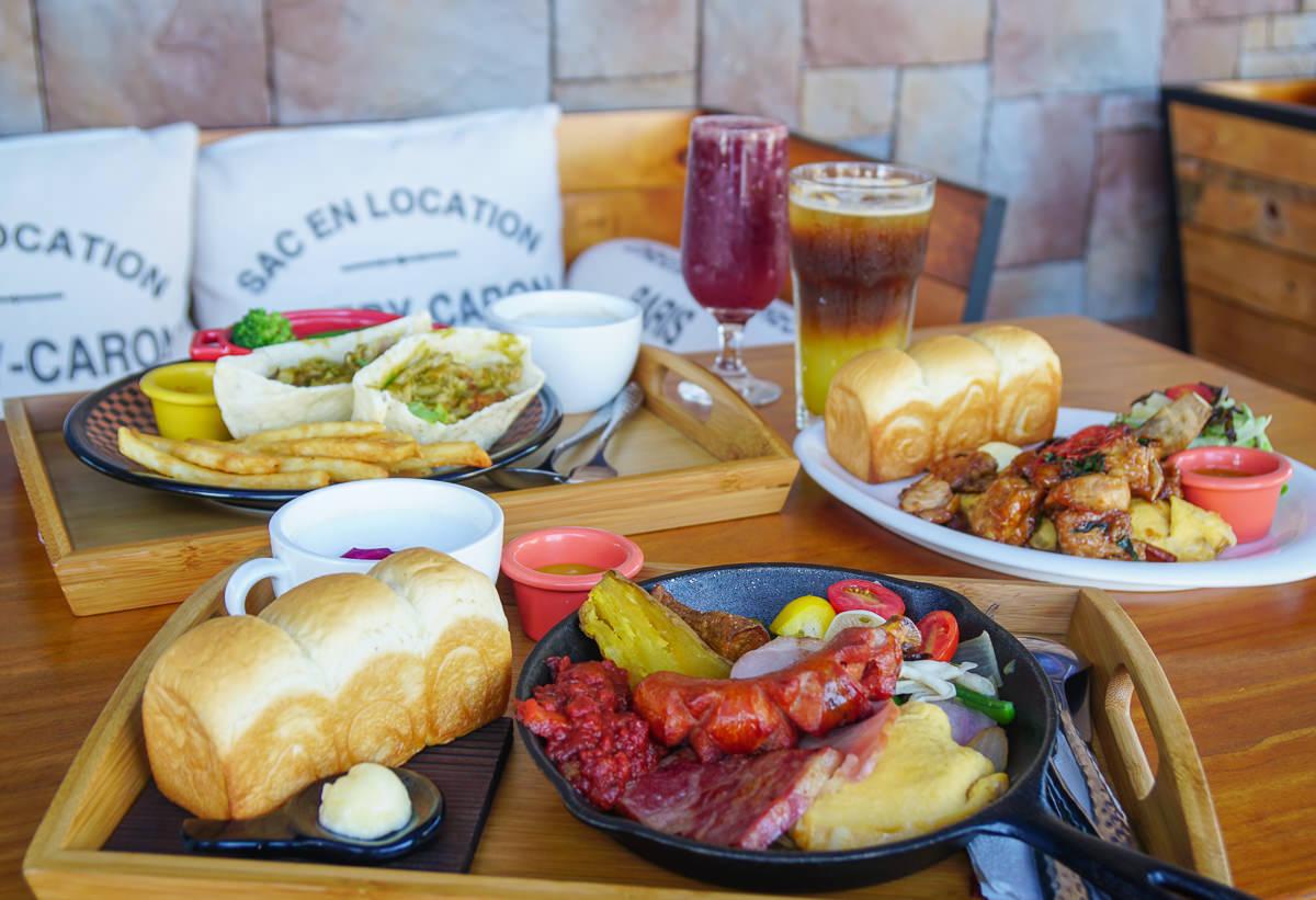 [高雄]多一點咖啡館(仁武直營店)-超好拍工業風度假感早午餐店!餐點豐富份量多