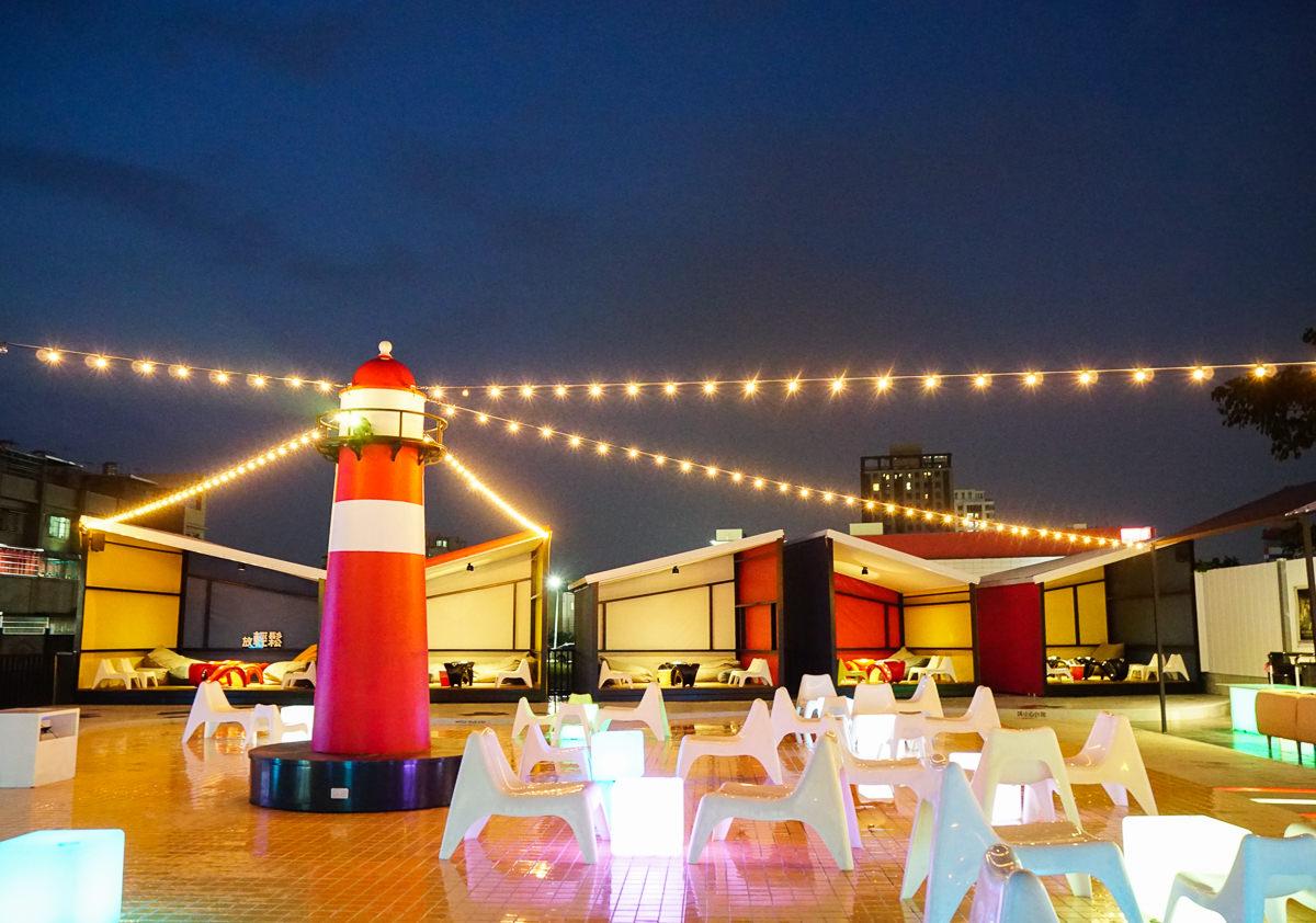 [高雄]海洋微光Ocean Light-都市秘境紅燈塔夜景~高雄最浪漫景觀餐廳