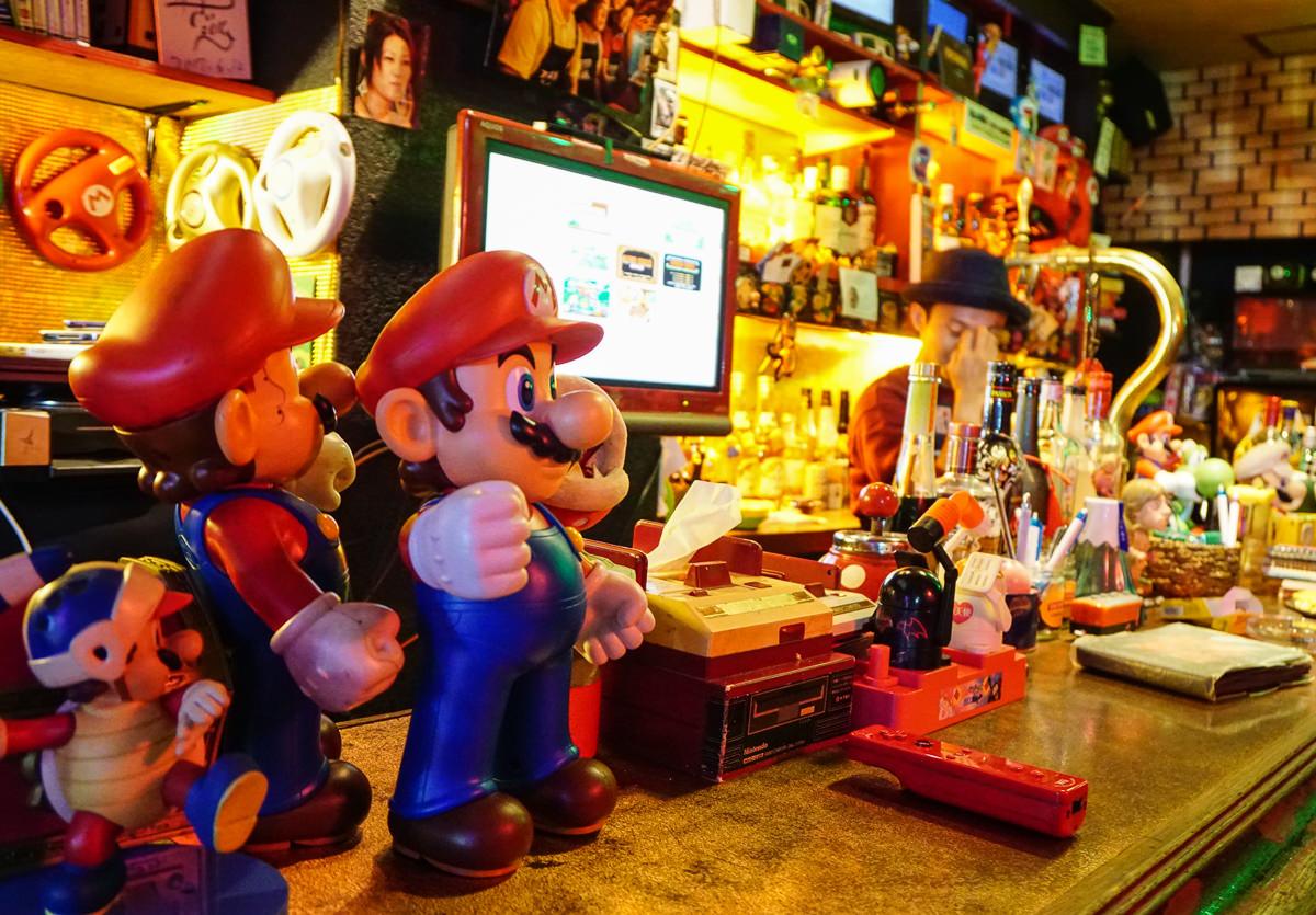 [東京酒吧推薦]スタア倶楽部STAR CLUB-超特別的瑪利歐主題酒吧