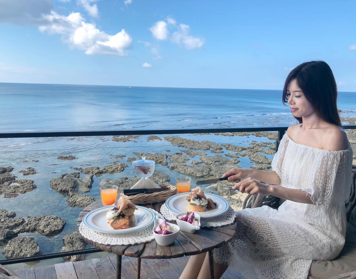 [墾丁海景住宿推薦]聽著海聲、迷路旅居-墾丁秘境海景民宿!坐擁海景的陽台早餐