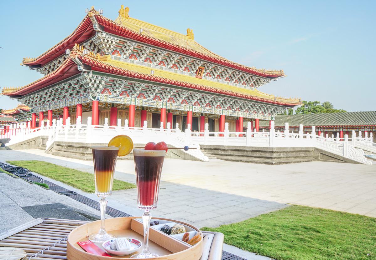 [高雄咖啡店推薦]芒果咖秋-潮翻天!左營孔廟裡喝咖啡吃甜點!