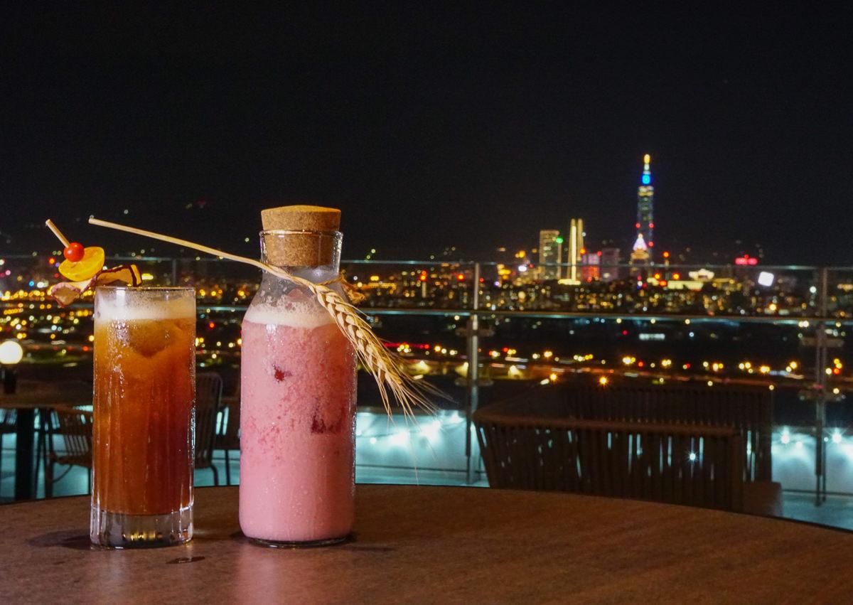 [台北景觀酒吧]台北萬豪酒店INGE'S BAR&GRILL-台北最美高空酒吧!微醺賞101夢幻夜景