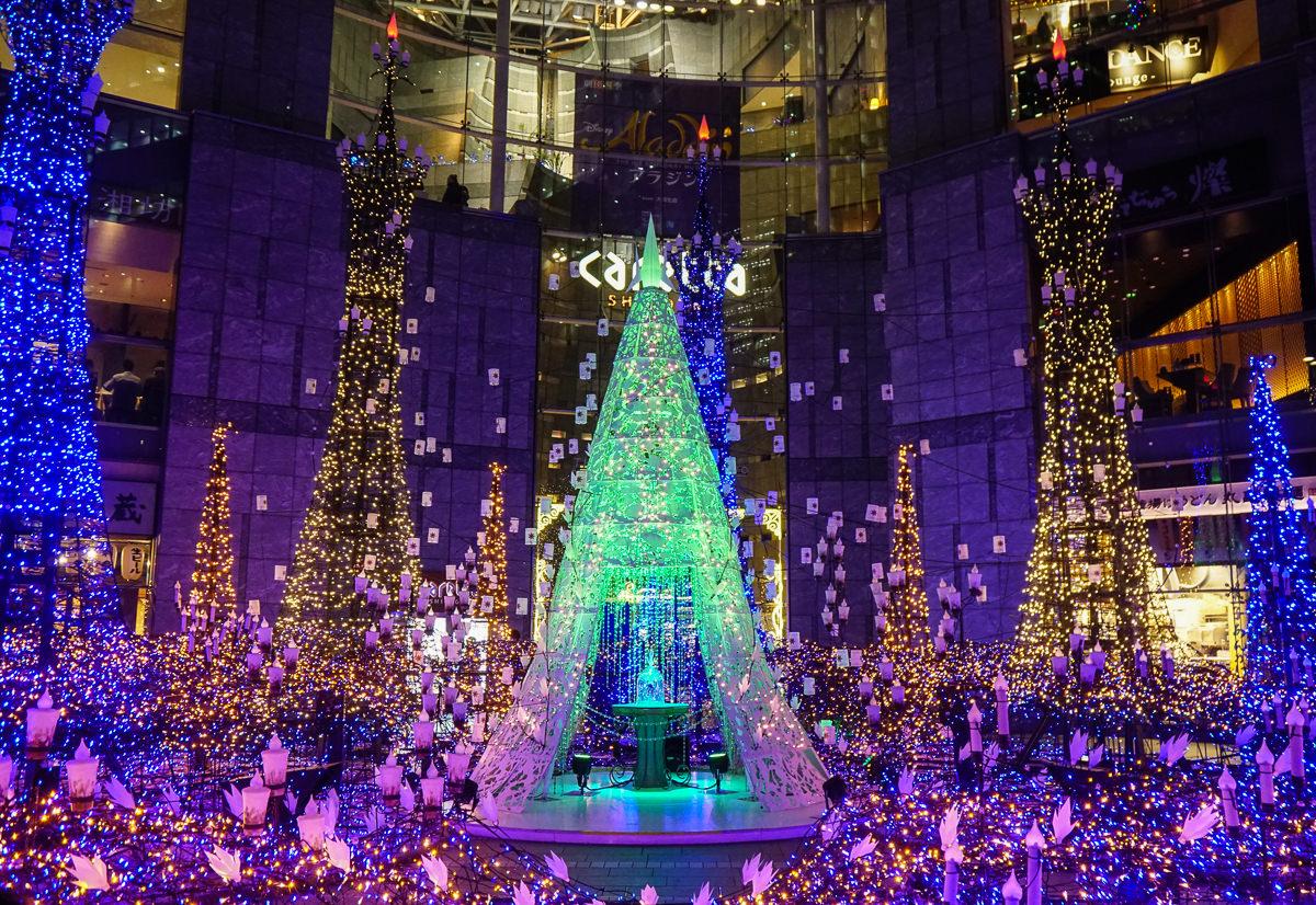 [東京聖誕點燈]汐留Caretta聖誕點燈-超夢幻迪士尼主題!東京聖誕必訪浪漫景點