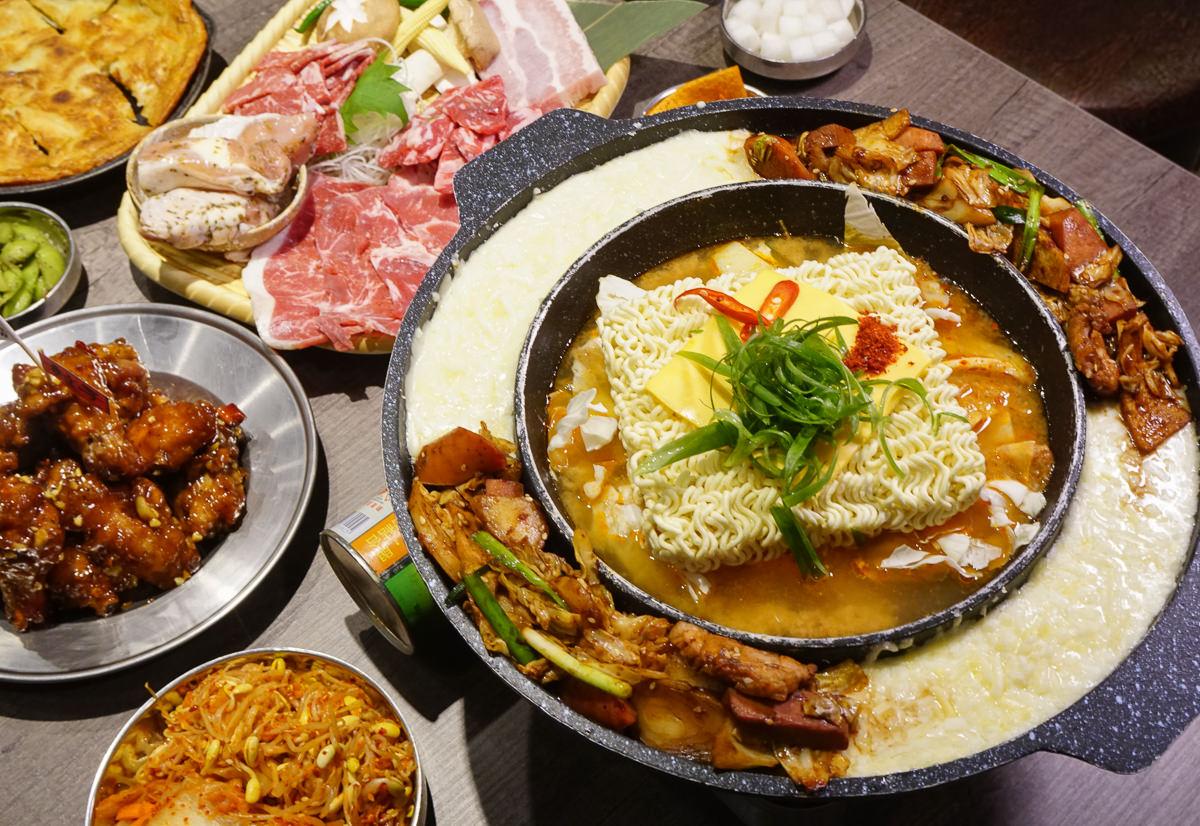 [高雄]娘子居食屋(高雄美術館加盟店)-爽吃韓式烤肉x超濃郁起司部隊鍋