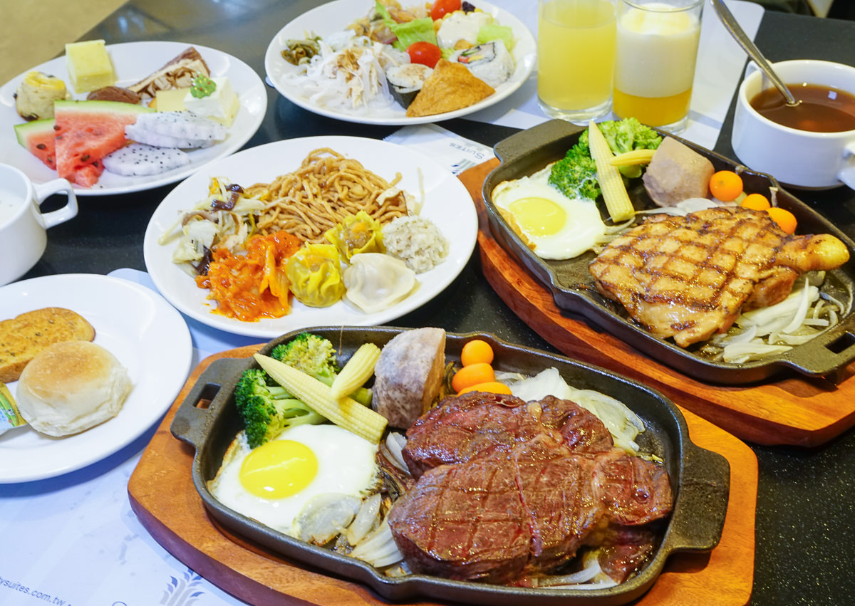 [高雄]城市商旅魅麗海西餐廳-超值排餐+自助吧吃到飽飲料無限暢飲