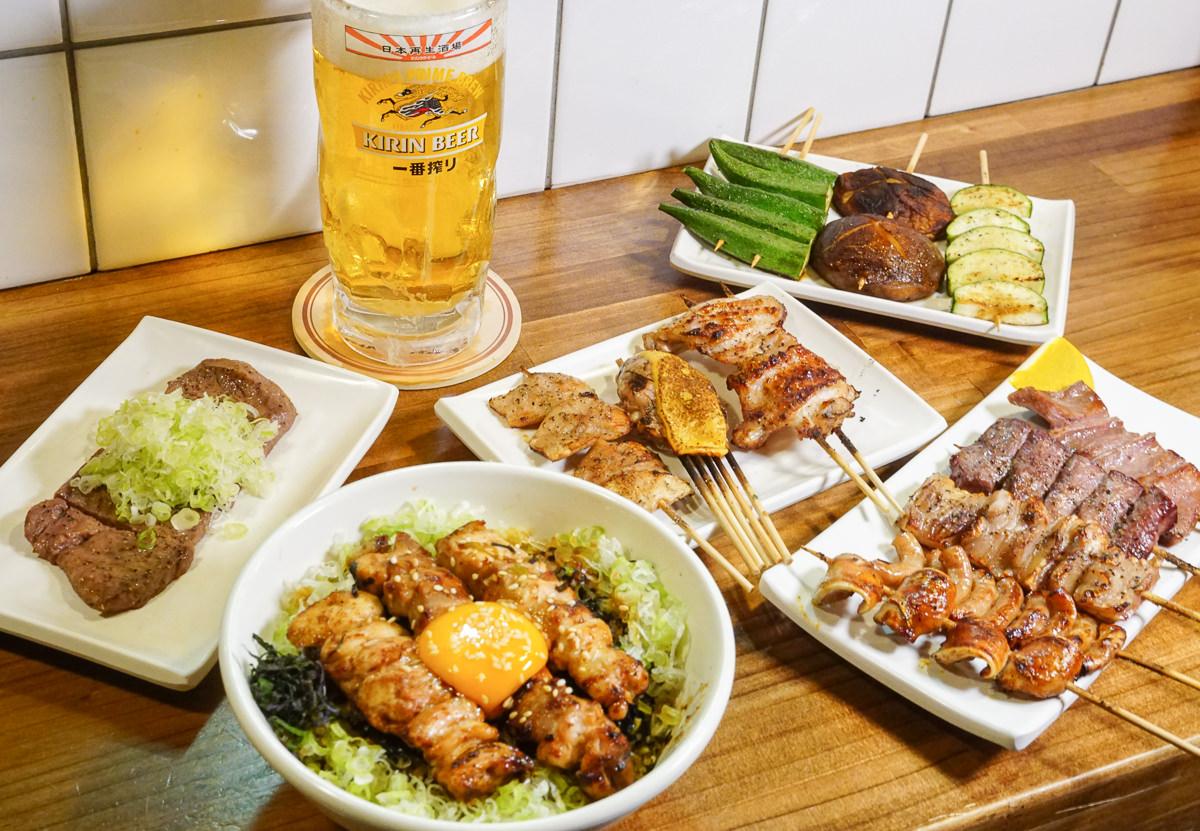 [高雄燒烤推薦]日本再生酒場-日職人串燒料理!超美味內臟燒烤~上班族聚餐秘密基地
