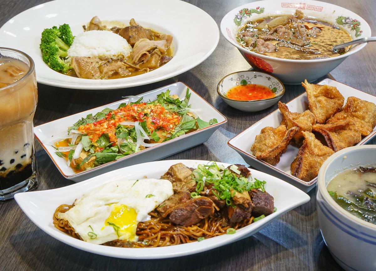 [高雄馬來料理推薦]家鄉牛什-超特別馬來西亞菜!香濃牛肉撈麵x經典牛雜湯x必吃炸牛肉雲吞
