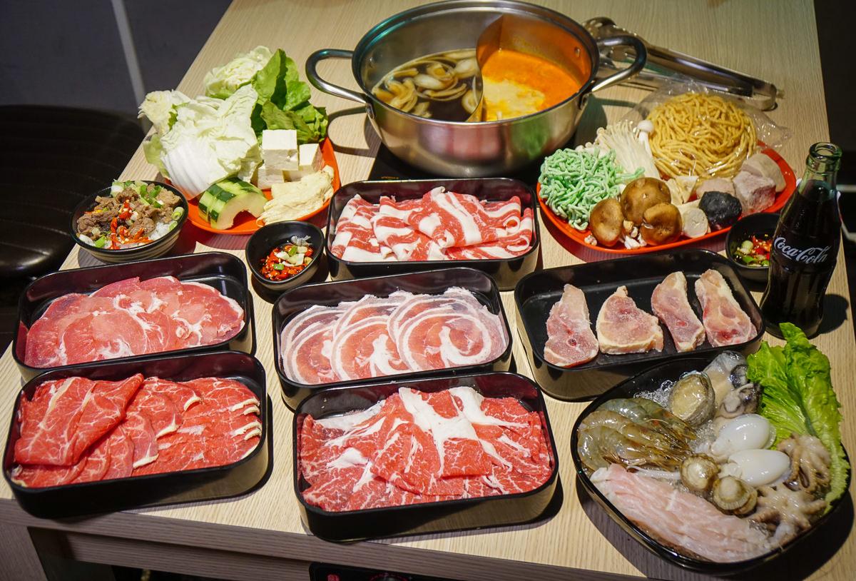 [高雄火鍋推薦]肉肉屋火鍋精緻吃到飽-高雄最香濃南洋叻沙湯頭!439+10%起安格斯牛肉吃到飽