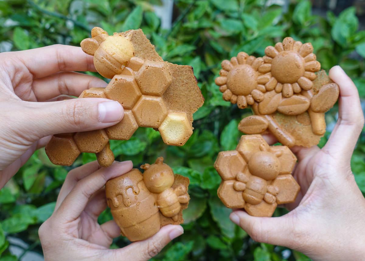 [高雄雞蛋糕推薦]小貝bee脆皮雞蛋糕-超可愛蜜蜂造型雞蛋糕!脆皮QQ口感超特別