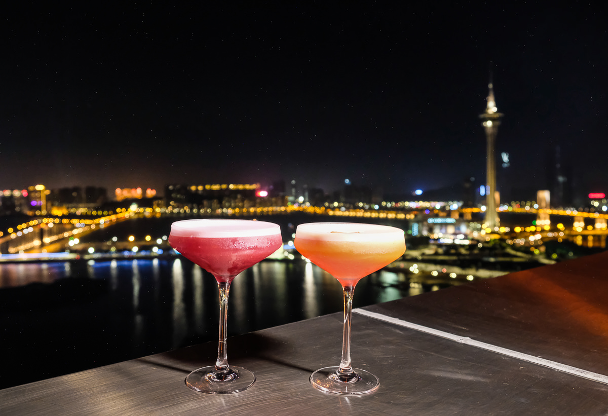 [澳門景點推薦]天Sky21 Bar&Restaurant-澳門最美空中酒吧~小酌賞澳門旅遊塔夜景