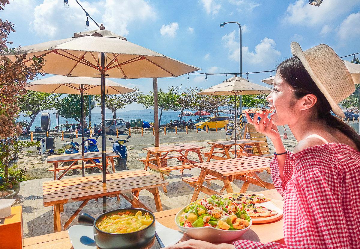 [墾丁海景餐廳]Pizza Rock搖滾披薩(墾丁店)-無敵南灣海景配pizza!平價的墾丁度假享受