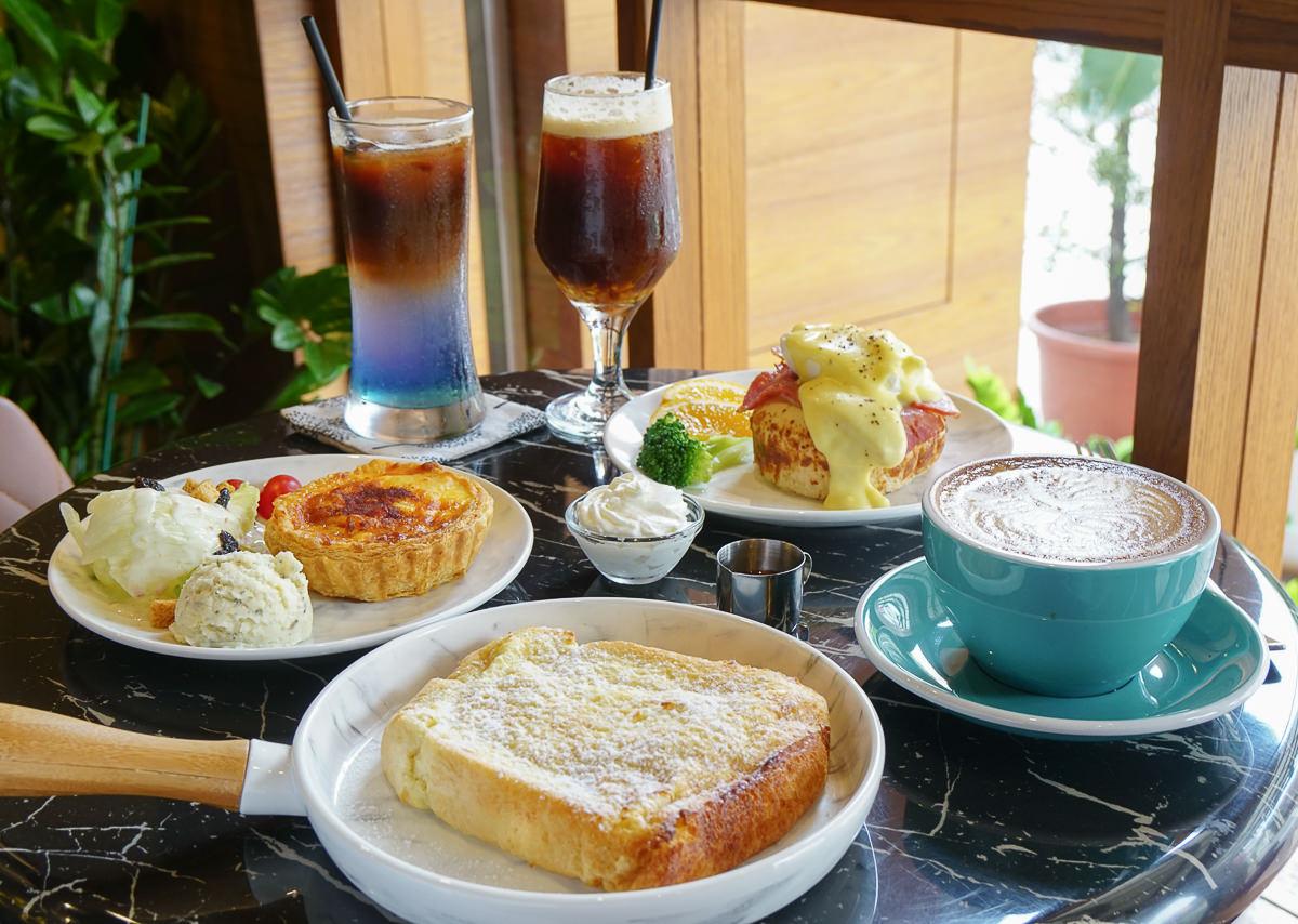 [高雄早午餐推薦]PLUSS COFFEE-高雄文山區歐式典雅咖啡廳~必吃綿軟法蘭西吐司!